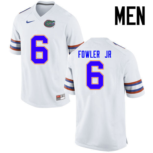 Men Florida Gators #6 Dante Fowler Jr. College Football Jerseys Sale-White